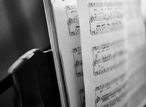 sheet music ad