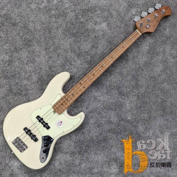 Bacchus BJB-1-RSM/M 電貝斯 白色