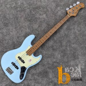 Bacchus BJB-1-RSM/M 電貝斯 天空藍