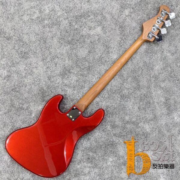 Bacchus BJB-1-RSM/M 電貝斯 糖果紅