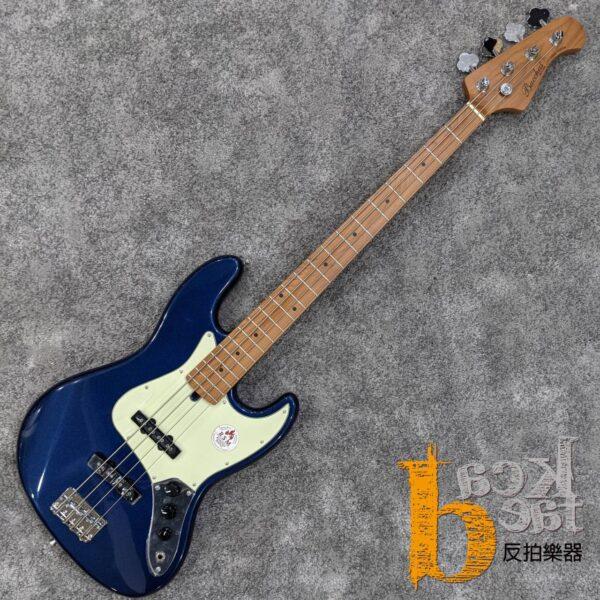 Bacchus BJB-1-RSM/M 電貝斯 湖水藍