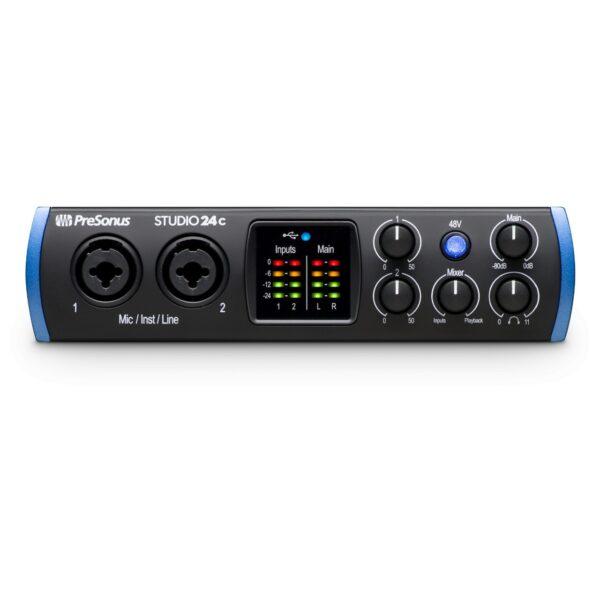 PreSonus Studio 24c USB錄音介面