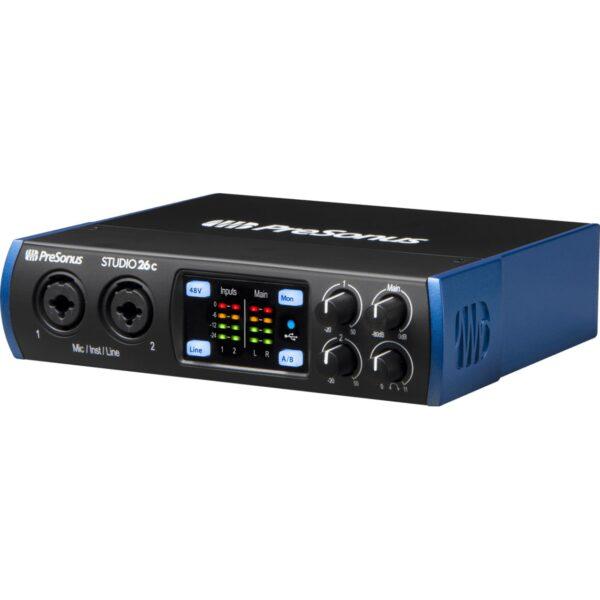 PreSonus Studio 26c USB錄音介面