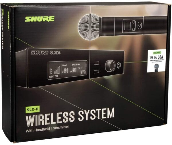 Shure SLXD24/B58