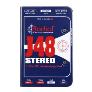 Radial J48_Stereo_logo