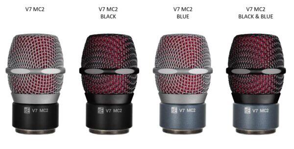 sE Electronics V7 MC2 黑 超心型 動圈麥克風音頭