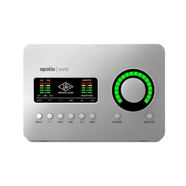 Universal Audio Apollo Solo USB錄音介面 (Heritage Edition)