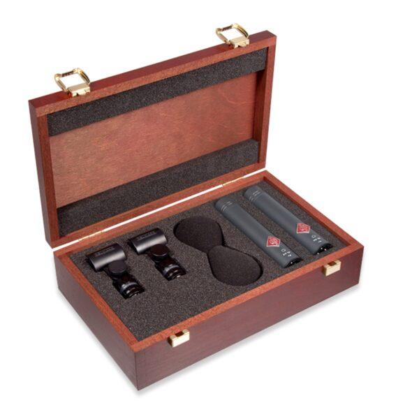 Neumann KM184 黑色 Stereo Set 電容麥克風