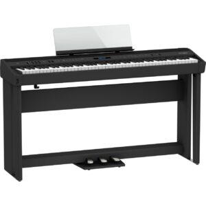 Roland FP-90X 黑色 電鋼琴 數位鋼琴(三踏板琴架組)